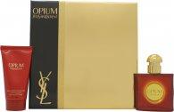 Yves Saint Laurent Opium Confezione Regalo 30ml EDT + 50ml Idratante per il Corpo