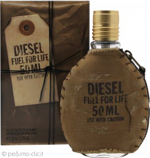 Diesel Fuel For Life Eau de Toilette 50ml Spray