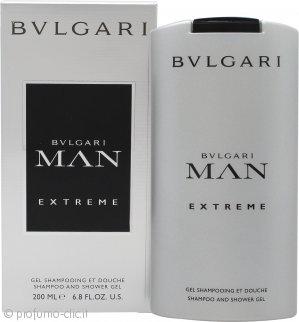 Bvlgari Man Extreme Shampoo & Gel Doccia 200ml