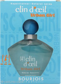 Bourjois Clin D'Oeil Urban Girl Eau de Toilette 75ml