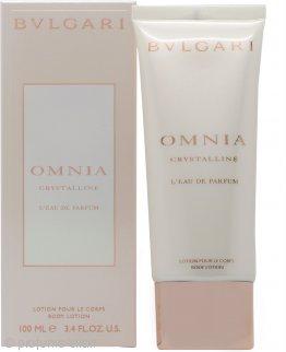 Bvlgari Omnia Crystalline L'eau de Parfum Lozione Corpo 100ml