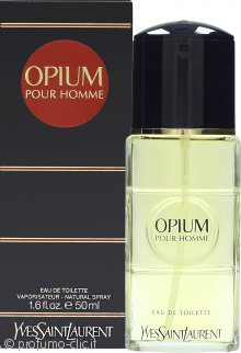 Yves Saint Laurent Opium for Men Eau de Toilette 50ml Spray