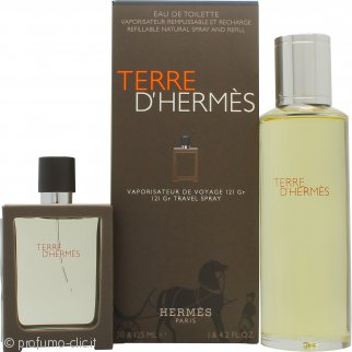 Hermes Terre D'Hermes Confezione Regalo 30ml EDT Ricaricabile + 125ml EDT Ricarica