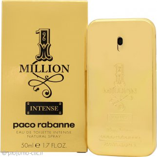 Paco Rabanne 1 Million Intense Eau de Toilette 50ml Spray