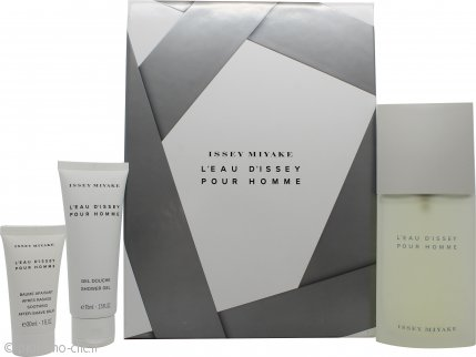 Issey Miyake L'Eau d'Issey Pour Homme Confezione Regalo 125ml EDT + 75ml Gel Doccia + 30ml Balsamo Dopobarba