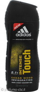 Adidas Intense Touch 2 in 1 Shampoo & Gel Doccia 250ml