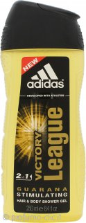 Adidas Victory League 2 in 1 Shampoo & Gel Doccia 250ml