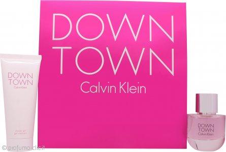 Calvin Klein Downtown Confezione Regalo 50ml EDP + 100ml Gel Doccia