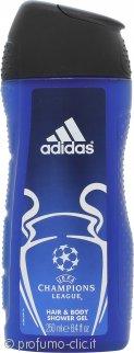 Adidas Champions League Shampoo & Gel Doccia 250ml