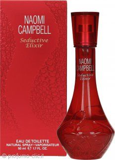 Naomi Campbell Seductive Elixir Eau de Toilette 50ml Spray
