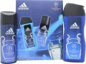 Adidas UEFA Champions League Edition Gift Set 150ml Body Spray + 250ml Shower Gel
