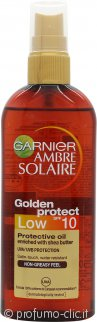 Garnier Ambre Solaire Golden Protect Olio 150ml Spray SPF10