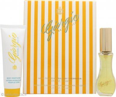 Giorgio Beverly Hills Giorgio Yellow Confezione Regalo 30ml EDT + 50ml Lozione per il Corpo