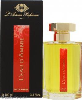 L'Artisan Parfumeur L'eau d'Ambre Eau de Toilette 100ml Spray