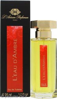L'Artisan Parfumeur L'eau d'Ambre Eau de Toilette 50ml Spray