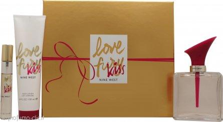 Nine West Love Fury Kiss Confezione Regalo 100ml EDP + 100ml Lozione Corpo + Mini EDP