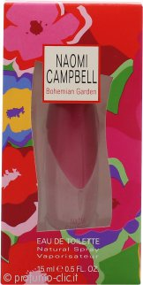 Naomi Campbell Bohemian Garden Eau de Toilette 15ml Spray