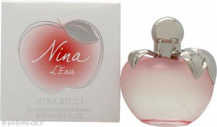 Nina Ricci Nina L'Eau Eau Fraiche 80ml Spray
