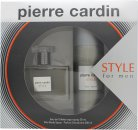 Pierre Cardin Style Confezione Regalo 50ml EDT + 200ml Body Spray