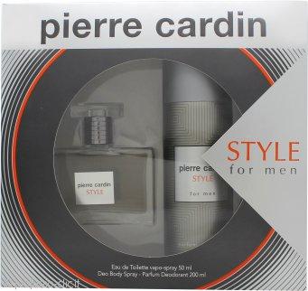 Pierre Cardin Style Confezione Regalo 50ml EDT + 200ml Body Spray