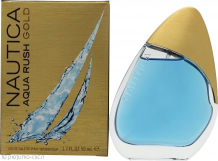 Nautica Acqua Rush Gold Eau de Toilette 50ml Spray