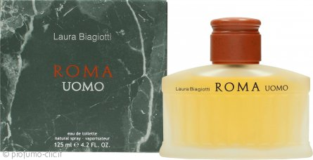 Laura Biagiotti Roma Uomo Eau de Toilette 125ml Spray