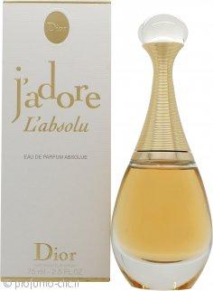 Christian Dior J'adore L'absolu Eau de Parfum 75ml Spray