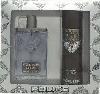 Police Original Confezione Regalo 100ml EDT + 200ml Deodorante Spray