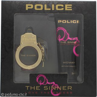 Police The Sinner Confezione Regalo 30ml EDT + 100ml Lozione Corpo