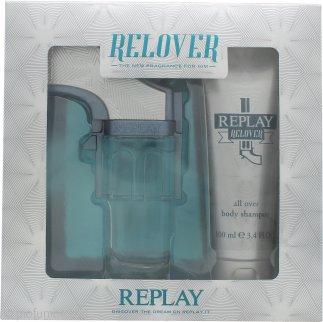 Replay Relover Confezione Regalo 50ml EDT + 100ml Doccia Shampoo