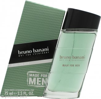 Bruno Banani Made for Men Eau de Toilette 75ml Spray
