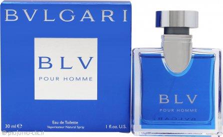 Bvlgari BLV Pour Homme Eau De Toilette 30ml Spray