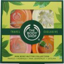 The Bodyshop Collezione Mini Burro Corpo 4 x 50ml - Mango + Moringa + Pink Grapefruit + Satsuma