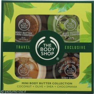 The Body Shop Mini Butter Confezione Regalo 4 x 50ml Mini Burro per Corpo