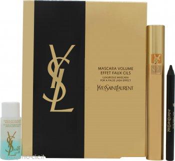Yves Saint Laurent Mascara Volume Effet Faux Cils Confezione Regalo Volume Effect Mascara + 3ml Eyeliner + 8ml Struccante Bi-Fase