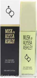 Alyssa Ashley Musk Eau de Cologne 100ml Spray