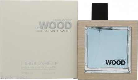 DSquared2 He Wood Ocean Wet Wood Eau de Toilette 100ml Spray