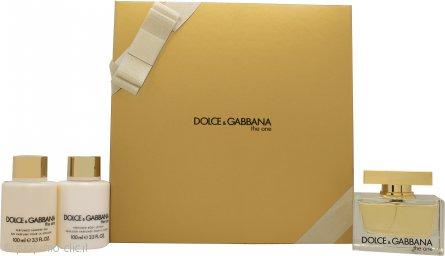 Dolce & Gabbana The One Confezione Regalo 75ml EDP + 100ml Lozione Corpo + 100ml Gel Doccia