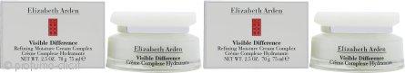 Elizabeth Arden Visible Difference Confezione Regalo 2 x 75ml Refining Moisture Crema