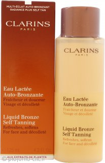 Clarins Liquid Bronze Self Tanning per Viso 125ml