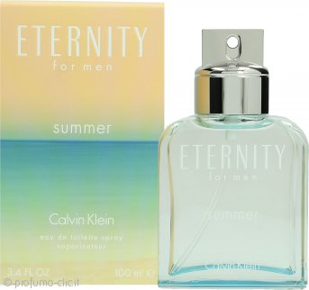 Calvin Klein Eternity Summer 2015 Eau de Toilette 100ml Spray