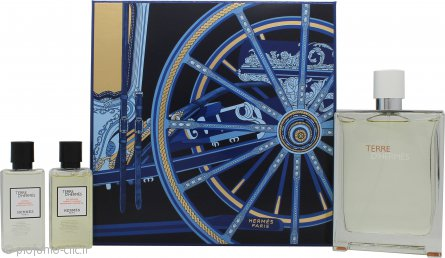 Hermes Terre d'Hermès Eau Très Fraîche Confezione Regalo 125ml EDT + 40ml Shmapoo e Gel Doccia + 40ml Balsamo Dopobarba