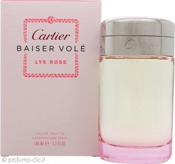 Cartier Baiser Vole Lys Rose Eau de Toilette 100ml Spray
