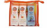 Riviera Sun Care Confezione Regalo 200ml Crema Solare Protettiva SPF15 + 200ml Crema Solare Protettiva SPF30 + 200ml Lozione Doposole