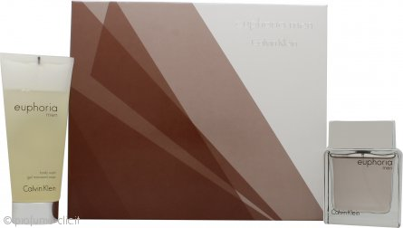 Calvin Klein Euphoria Confezione Regalo 50ml EDT + 100ml Bagnoschiuma