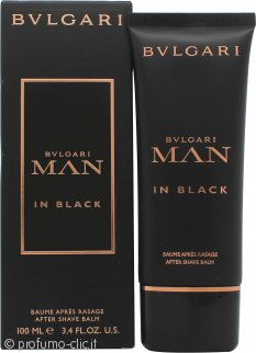 Bvlgari Man In Black Balsamo Dopobarba 100ml