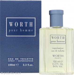 Worth Pour Homme Eau de Toilette 100ml Spray
