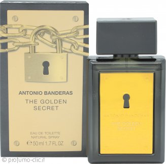 Antonio Banderas The Golden Secret Eau de Toilette 50ml Spray