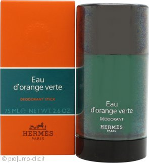 Hermes Eau D'Orange Verte Deodorante Stick 75ml