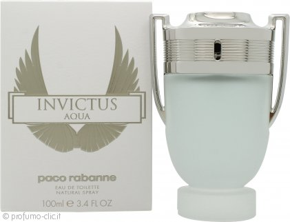 Paco Rabanne Invictus Aqua Eau de Toilette 100ml Spray